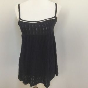 Juicy couture navy blue sleeveless tank